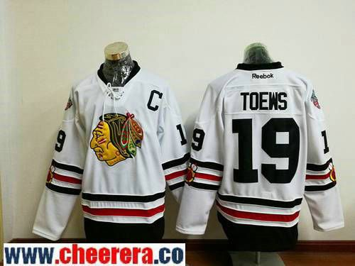 mens chicago blackhawks 19 jonathan toews black 100th anniversary stitched nhl 2017 adidas hockey jersey nhl
