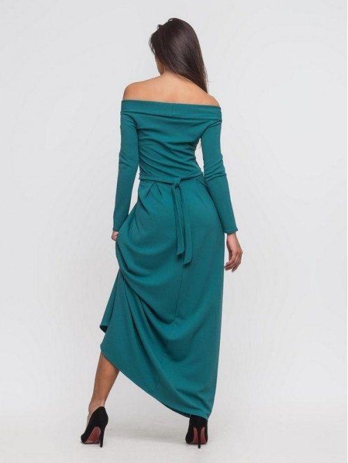 Vestido largo turquesa / maxi vestido para las por Anastasya28