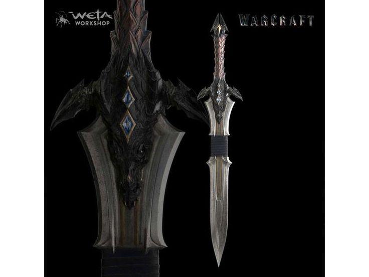 Warcraft 1/1 Scale Prop Replica - Lothar's Sword - Warcraft (2016) Replicas