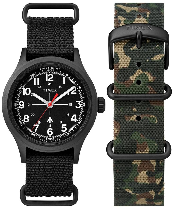 The Military Watch in Black