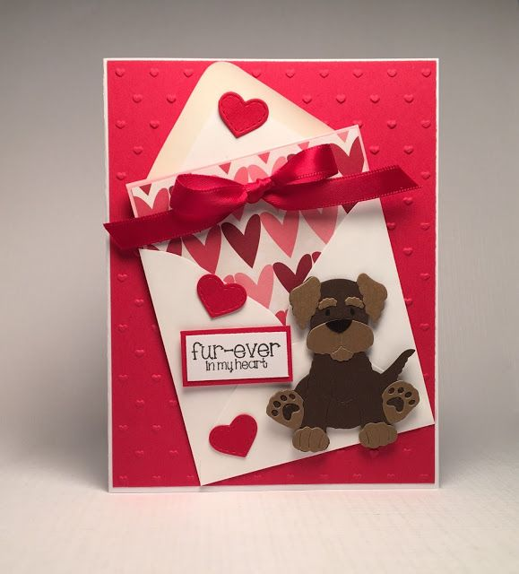 Stamper at Heart: Valentine Pup! - Scrapping Cottage