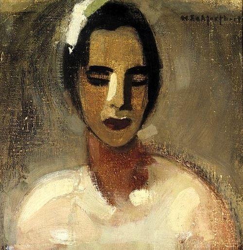 1934 Helene Schjerfbeck (1862-1946) Girl from California