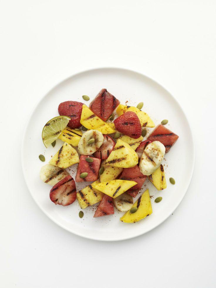 Grilled Fruit Salad #myplate #fruit #desserts #summer