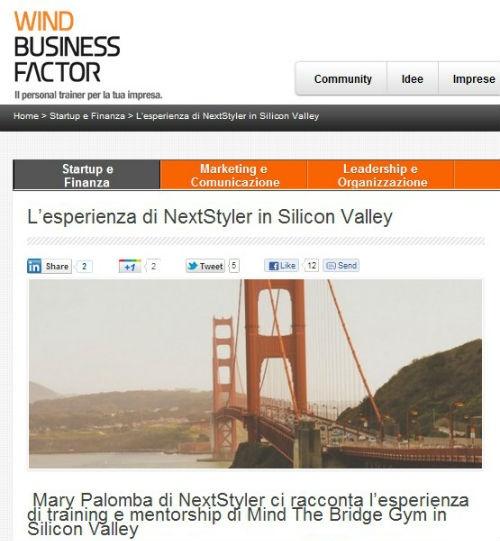 NextStyler in Silicon Valley http://blog.maisonacademia.com/nextstyler-in-silicon-valley-2/