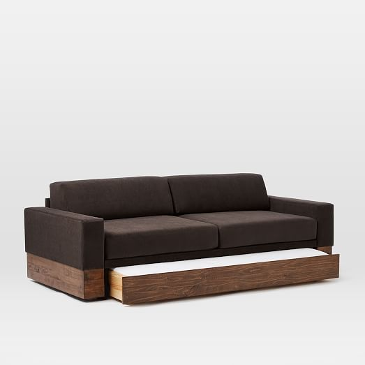 Emery sofa twin daybed w trundle sofa daybed daybed for Couch 0 interest