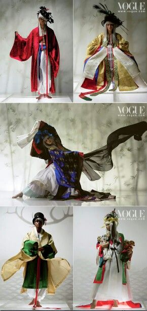 Hanbok in Vogue