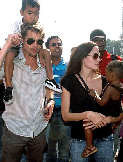 November 2006 Photo - Brad Pitt and Angelina Jolie: How Their Love Has Evolved Since 2005 - Us Weekly