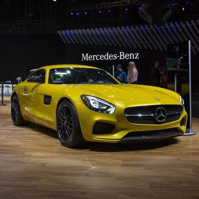 There's always a bright side to things with an all-new Mercedes-AMG GT S.  #Mercedes #Benz #AMGGT #AMG #GT #NewYork #NYIAS #NYIAS2015 #NewYorkInternationalAutoShow #instacar #carsofinstagram #germancars #luxury @NYAutoShow