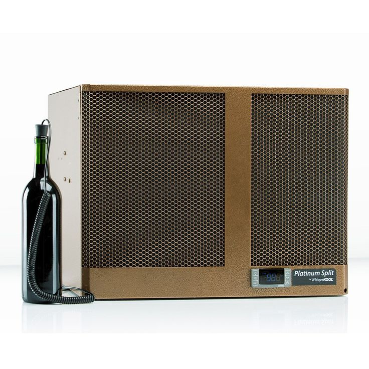 WhisperKOOL? Platinum Split System 4000 Wine Cellar Cooling Unit (up to 1,000 cu ft) * This is an Amazon Affiliate link. Click image to review more details.