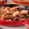 Sausage & Shrimp Panzanella Skillet   mrfood.com