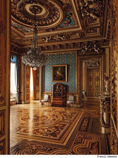 Grand room inside palace