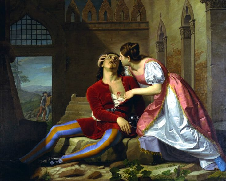 Even when describing a tragedy like the one of Francesca da Rimini and Paolo Malatesta punished together in hell for their adultery, 'la bella lingua' in the hands of poet Dante Alighieri is simply beautiful!