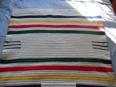 Knitting Pattern For Hudson Bay Blanket : Meer dan 1000 idee?n over Echo Beddengoed op Pinterest ...