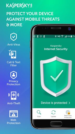 Kaspersky Antivirus & Security v11.13.4.800  Keys   Kaspersky Antivirus & Security v11.13.4.800  KeysRequirements:4.0Overview:Kaspersky Internet Security for Android is a FREE-to-download antivirus solution that helps protect your smartphones and tablets as well as any personal data stored on your devices against dangerous mobile threats viruses spyware Trojans etc.  Product features  Scan and detect dangerous viruses malware spyware and Trojans  Remove viruses and other threats from…