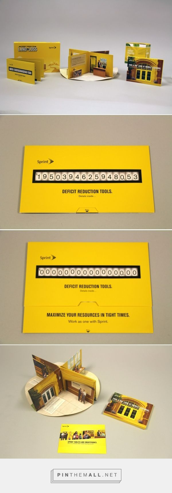Sprint multiwave direct mail campaign | Structural Graphics Blog - created via http://pinthemall.net
