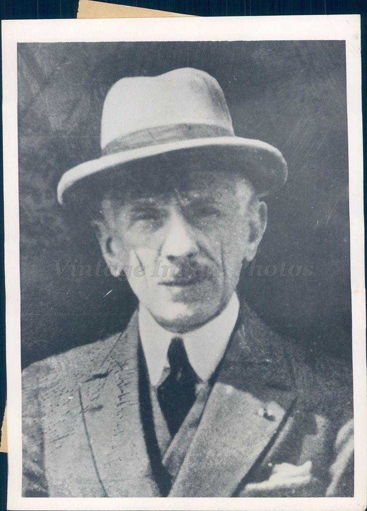 1935 Photo Pressard Attorney General France Stavisky Scandal Suicide Original
