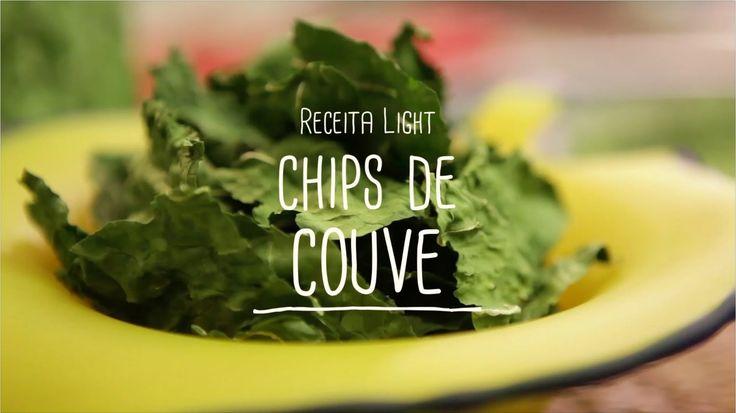 Chips de couve | Receitas Saudáveis - Lucilia Diniz