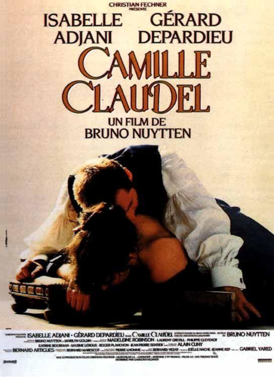 Camille Claudel (1987) - Bruno Nuytten - Isabelle Adjani, Gérard Depardieu カミーユ·クローデル。19歳の時に彫刻家オーギュスト・ロダンの弟子となる。時にロダン42歳。2人は次第に愛し合うようになるが、ロダンには内妻ローズがいたため三角関係となる。その関係はその後15年にわたって続いていく。