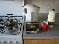 srimech: Tea-making with gas and electricity