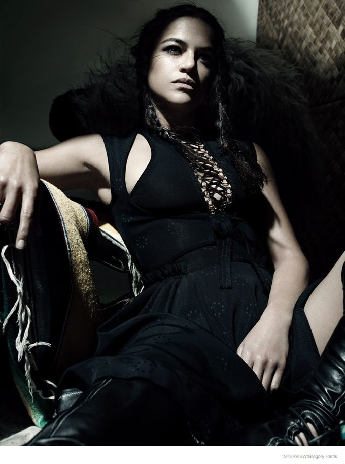 Мишель Родригес в Interview Magazine \ Celebrities - Michelle Rodriguez