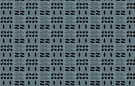Dag Blue fabric by alexandraboman on Spoonflower - custom fabric