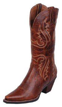 Женские ковбойские сапоги Ariat Heritage Western форма мыса X-Toe цвета Vintage Caramel