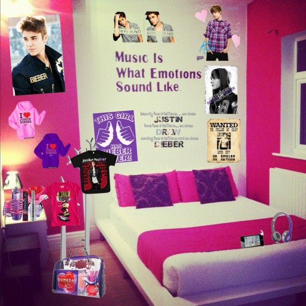 23 best justin bieber room ideas images on pinterest - Stuff for girls rooms ...
