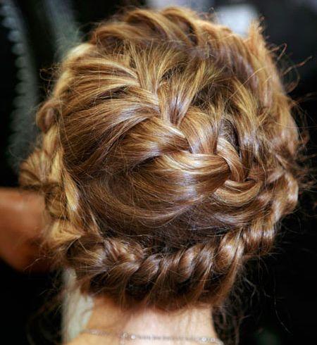Romantic bohemian braid. Love it!