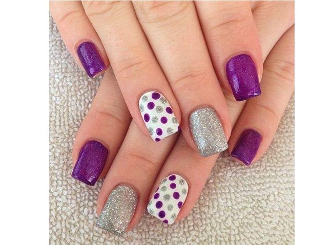 Wzorki na palec serdeczny. 20 super pomysłów na letni manicure - Strona 8