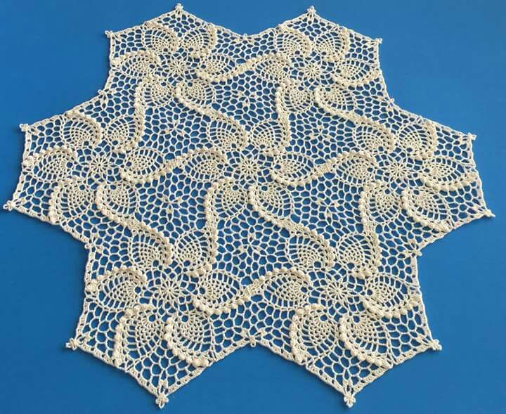 1461 best crochet pineapple and motifs images on pinterest hexagon pineapple motif from the ondori book motifs of the crochet lace dt1010fo
