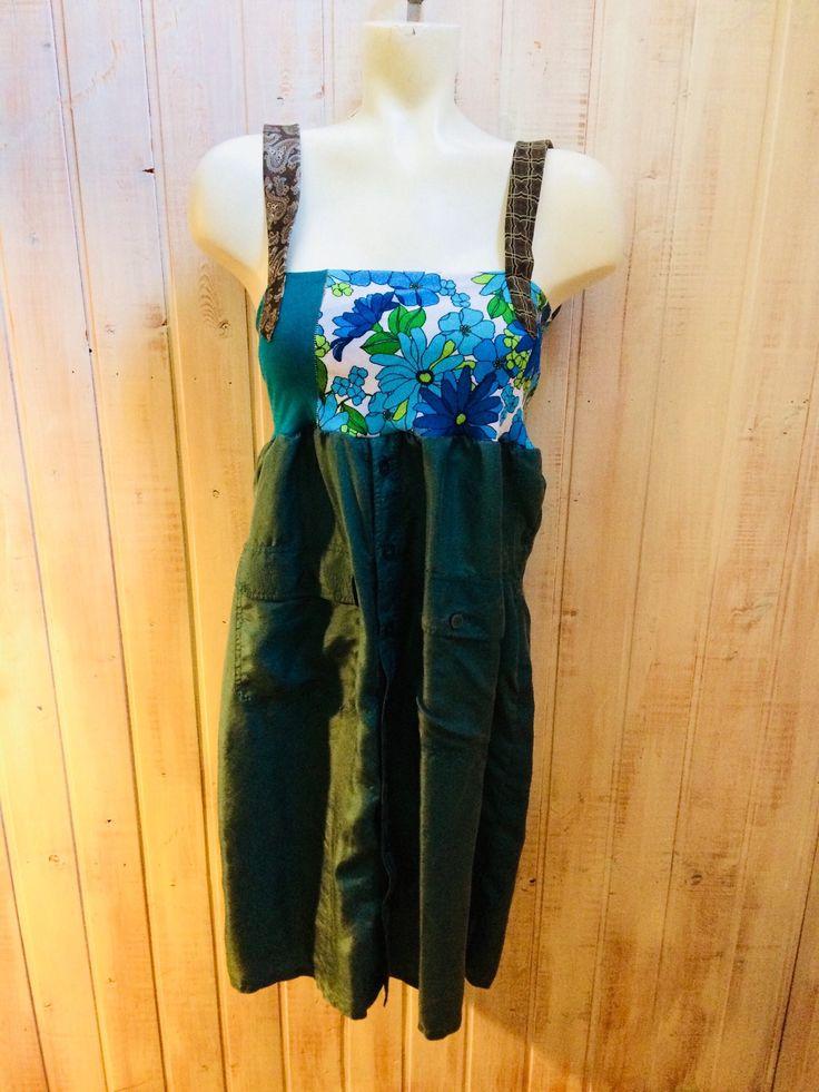 Le chouchou de ma boutique https://www.etsy.com/ca-fr/listing/581100174/up-cycled-clothing-salopette-jupe-piece
