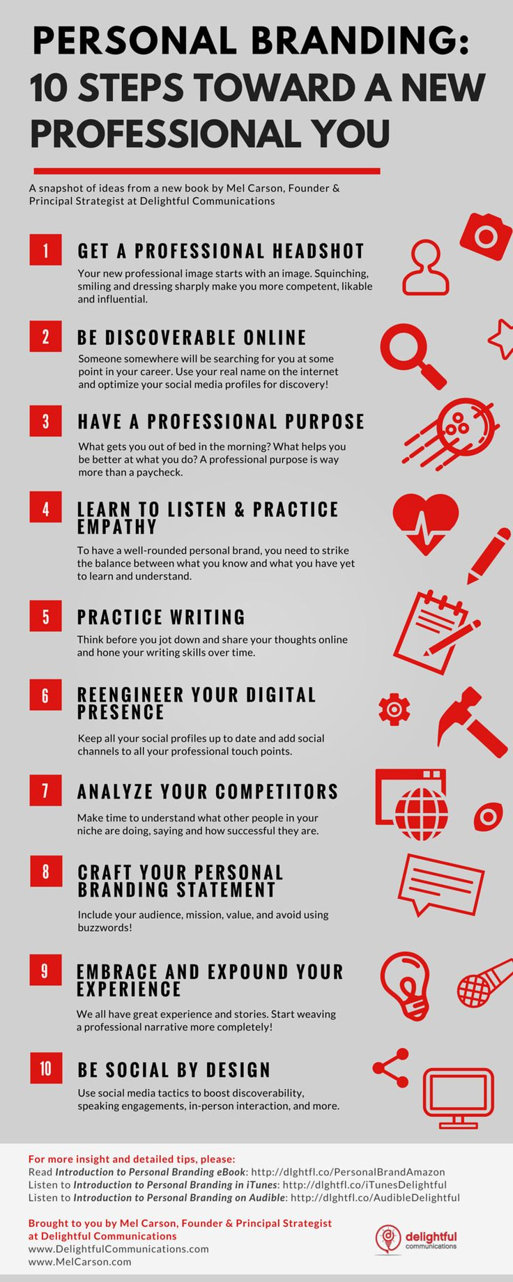Your Personal Branding Strategy in 10 Steps (Infographic) - http://www.webmarketshop.com/your-personal-branding-strategy-in-10-steps-infographic/