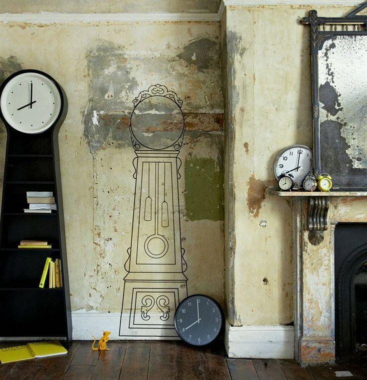 9 Best Clocks Images On Pinterest