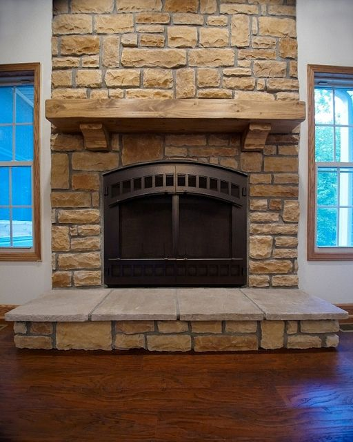 Raised Hearth Fireplace Designs: 43 Best Images About Custom Fireplaces On Pinterest