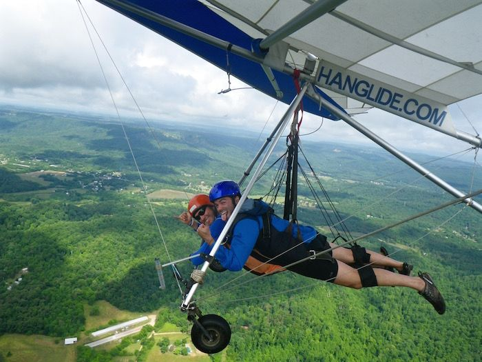 Things To Do In Chattanooga Tennessee Lookout Mountain Hang Gliding
