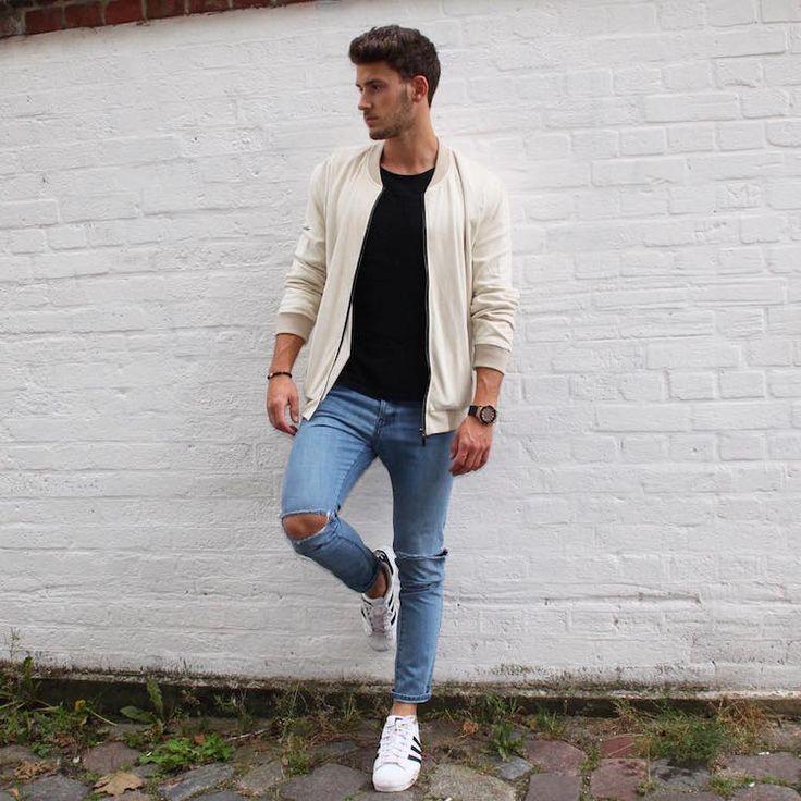 Se os diamantes são os melhores amigos da mulher, eu diria que a calça jeans é a melhor amiga do homem. Elas são versáteis, estilosas, resistentes… Para resumir, é um item simplesmente essencial no armário masculino. E tem um modelo específico que, nos últimos tempos, vem bombando: o jeans destroyed. Alguns dos bloggers mais estilosos …