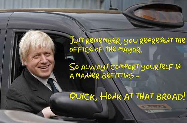 14 Mayor Quimby Quotes On Pictures Of Boris Johnson, Because Why Not