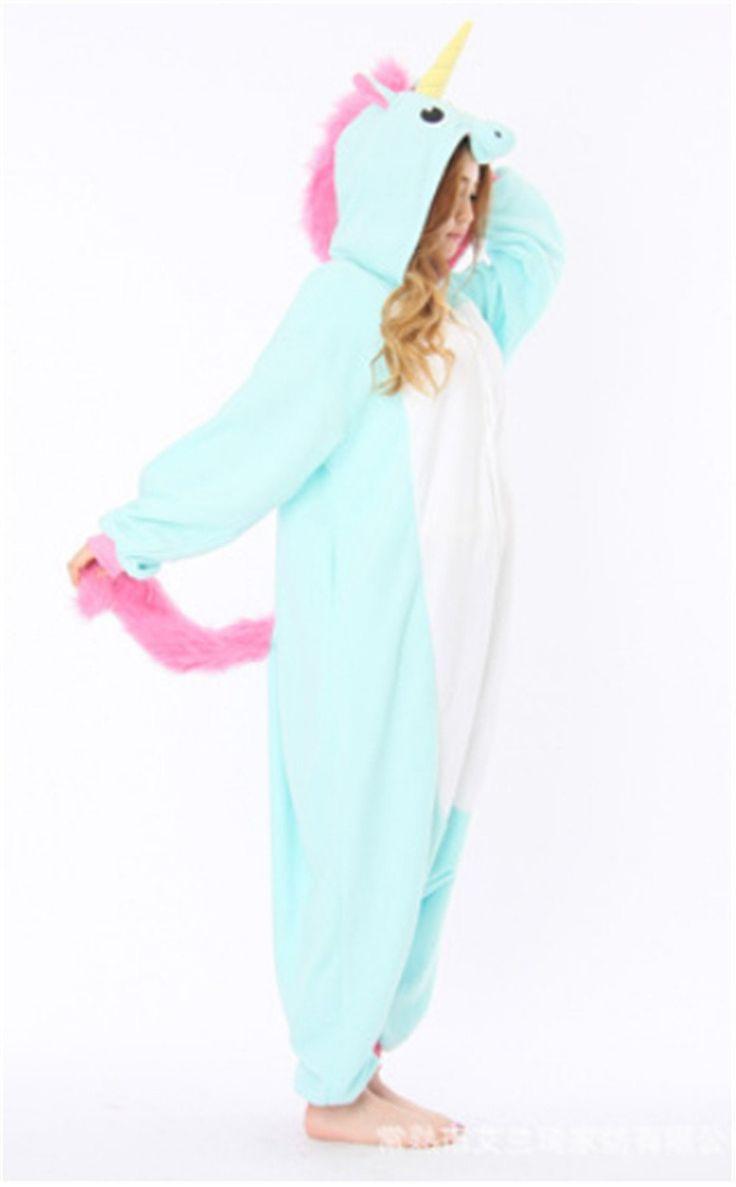 Yarbar adultes Kigurumi animaux pyjamas costume Anime Cosplay Halloween Licorne Onesie: Amazon.fr: Jeux et Jouets