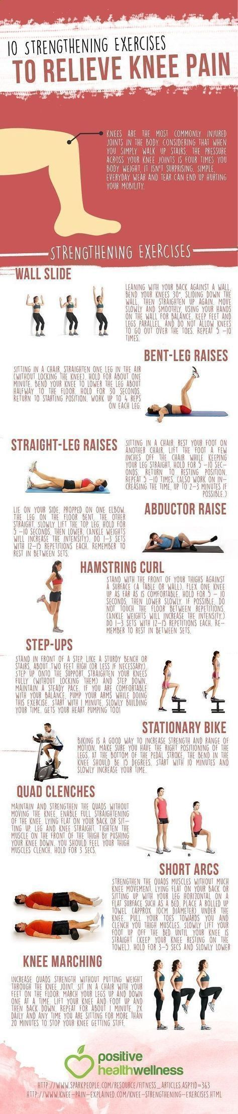 At home 10 Strengthening Exercises to Relieve Knee Pain.