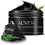 #9: AL'IVER Black Mask, Charcoal Peel off Mask Natural Blackhead Remover Gel Challenge, 3.4 Ounce