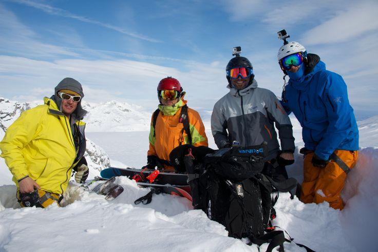 Balls deep conditions in the Tordrillos, Alaska. #snowboard #ski #alaska #heli #AK