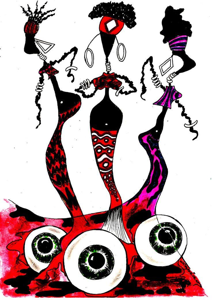 Marian Lupu LUPINO -graphics-29X21 cm