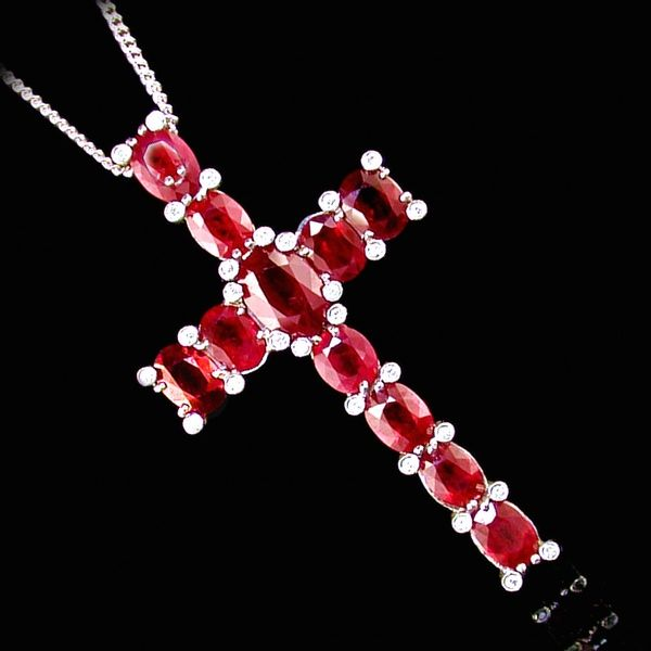 Ruby Cross | KAYES JEWELLERS