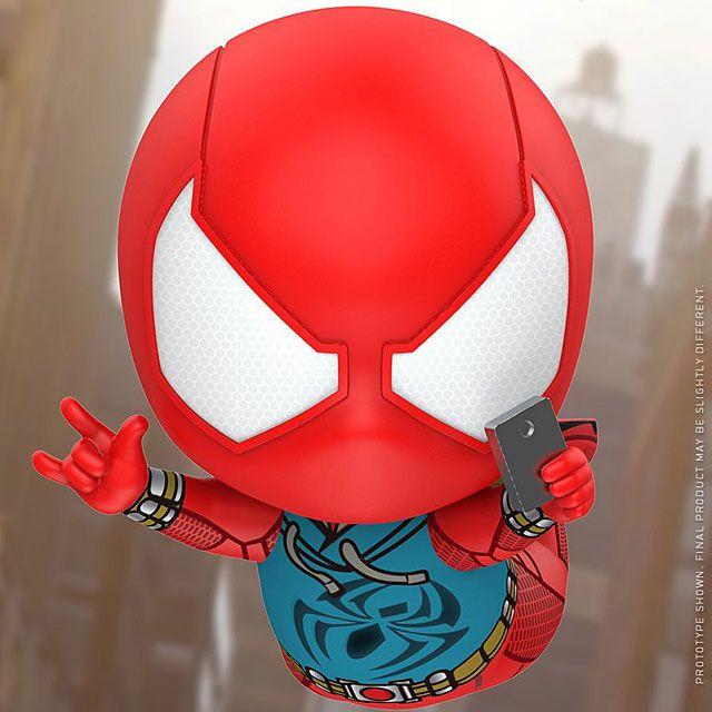 HOT TOYS Cosbaby SCARLET SPIDER suit MARVEL-SPIDER MAN