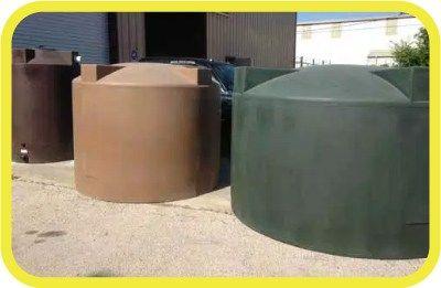 Rain Ranchers Poly-mart Rainwater Harvesting Tanks
