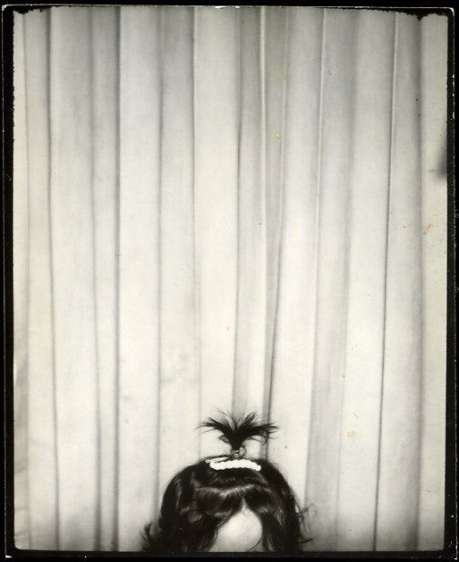 ** Vintage Photo Booth Picture **   This cracks me up - love it!