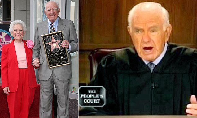 Judge Joseph Wapner died in his sleep on Sunday morning at his Los Angeles home aged 87. The People's Court judge is survived by his wife of 70 years, Mickey.