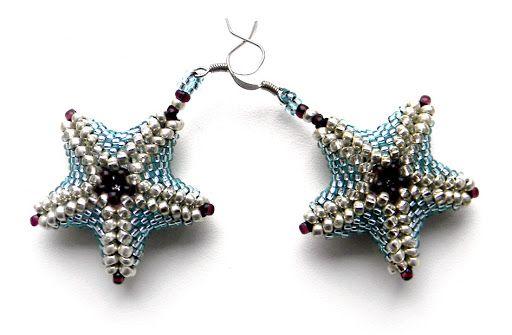 "Серьги ""Морские звезды 2"""