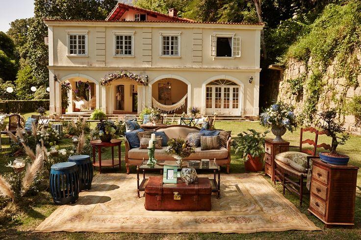 lounge para casamento boho