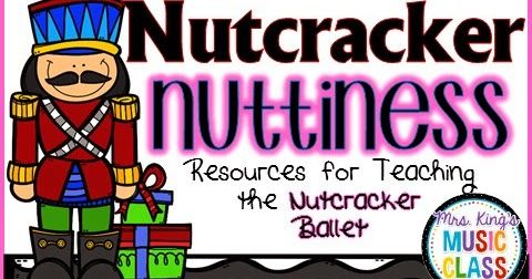 It's here!  It's here!  It's time to study the Nutcracker in music class!  My kiddos seem to think I'm just a little nutty abou...